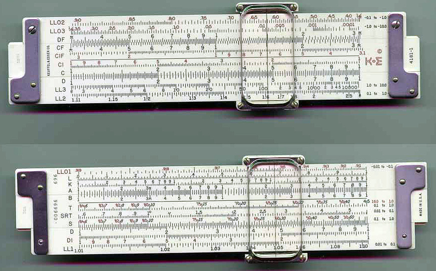 David Crate's Quality Slide Rules